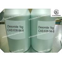China Desonide Topical Corticosteroid Anti-inflammatory for Skin Disease White Powder wholesale