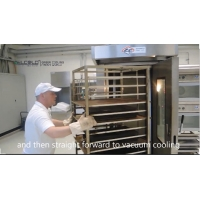 Buy cheap Vacuum cooler vacuum cooling machine for bread bakery food cooked food sushi rice product