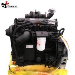 Buy cheap QSB4.5-C130 Cummins Diesel Engine, Euro Ⅲ 130HP , DCEC Mechanical Engineering  Motor product