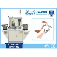 Buy cheap Copper Sliver Terminal automatic spot welding machine for Electrical Parts product