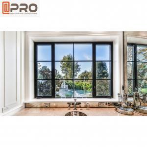 Buy cheap Indoor Modern Aluminum Casement Windows Non Thermal Break product