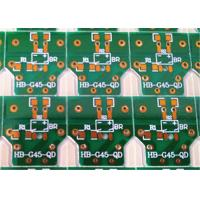 Buy cheap 2 Layer LED Light Print Circuit Board and Assembly Lead Free product