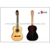 Buy cheap 39 Inch Mahogany Best Handmade 650mm Classical Acoustic Guitar Golden plated machine head product