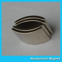 Buy cheap Arc Shaped Neodymium Permanent Magnet High Strength Customized Size product