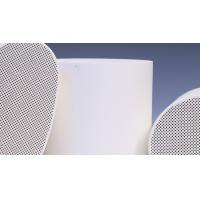 Buy cheap RTO Ceramic Catalyst Carrier , SCR Substrate / DOC Support  100CPSI product