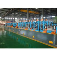 Buy cheap Automatic Precision Tube Mill PLC Control Low Carbon Steel Raw Material product