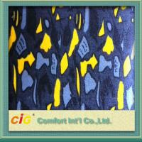 Buy cheap Customized Printing Bus / Auto Upholstery Fabric For Car Seat Cover / Home Textile product