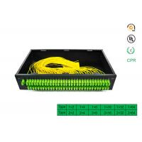 Buy cheap Factory directly selling price for 1x64 PLC Optical Fiber Splitter Rack optical splitter with SC APC connector product