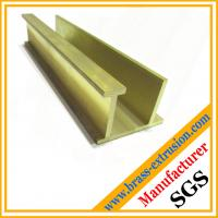 Buy cheap C38500 CuZn39Pb3  CuZn39Pb2 CW612N C37700 brass extrusion profiles sections product