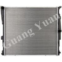 Quality Anti Corrosion Custom Replacement Aluminum Radiator For Car / Auto High Heat Transfer for sale
