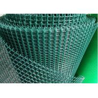 China UV Treated Green Plastic Garden Netting , 280-430 g/m2 Plastic Safety Fence on sale