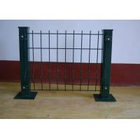 Buy cheap Bending Barrier Wire Fence / Park Fence Barricade / Fence With Triangle Bends product