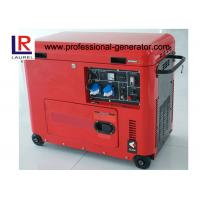 5.5 kw Single Cylinder Electric Silent Diesel Generator with Copper Alternator