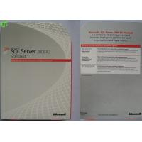 China Windows Server 2012 Data Center / Standard Retail Version With Online Activation Warranty on sale