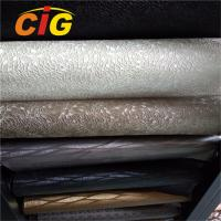Buy cheap Colorful PVC Vinyl Fabric , 0.6mm -1.2mm Upholstery PVC Leather Anti Mildew from wholesalers