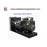 China Low Noise 50Hz/60Hz Diesel Powered Generator 900kVA/720kw Water Cooling on sale