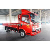 China 4 x 2 Cargo Light Duty Cargo Trucks , Flatbed Truck With 80L Fuel Tank wholesale