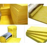 Buy cheap glasswool with aluminum foil density 16kg/m3x15m x1.2m x50MM product