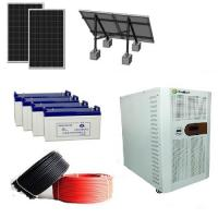 Buy cheap Wholesale Solar Panel Battery Pure Sine Wave Inverter 5kw Solar Power System product