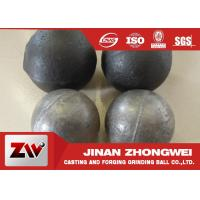 Buy cheap Cement plant use  forged and low chrome cast grinding ball/ steel grinding balls product