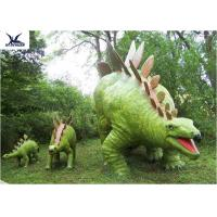 Buy cheap Jurassic Park Outdoor Resin Animal Statues , Artificial Robotic Moving Dinosaur Sculpture Park  product