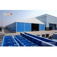 Buy cheap Water Resistant Industrial Storage Tents With Steel Sandwich Hard Wall product
