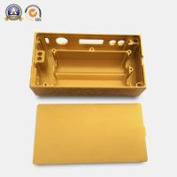 Buy cheap Yellow Coated Cnc Mechanical Parts Electronic Cigarette Aluminum Case product