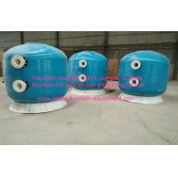 Buy cheap Diameter 1600 Commercial Fibreglass Swimming Pool Sand Filters Pools Filtration With Oil Guage Plate product