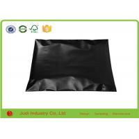 Buy cheap Moisture Proof Custom Mailing Bags 23 X 33cm , Black Color Plastic Courier Bags product