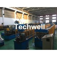 Buy cheap Steel Galvanized Ridge Cap Roll Forming Machine With Hydraulic Cutting For Making Roof Panels product