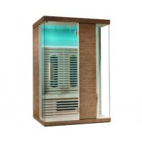 China 220v Home Infrared Sauna Cabin, Ceramic Heater Sauna Bath for 2 Person on sale