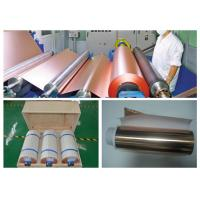 Buy cheap High Elongation PCB Copper Foil Single Side Gray Treated 0.105mm Thickness product