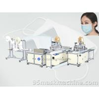 Buy cheap Automatic Face Mask Production line, medical face mask making machine product