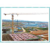 Buy cheap Self Erecting Construction Tower Crane , Moldel ZT5610 Topless Tower Crane On Rails product