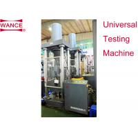Buy cheap large Capacity Servo Hydraulic Universal Testing Machine 1200×900×4100mm Frame product