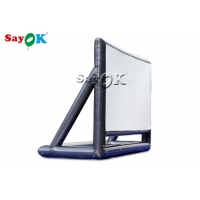 7x5mH High Clear Airtight Inflatable Movie Screen