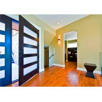 Buy cheap Customized Size Solid Wood Doors Glass Pivot EPE Inside Strong Carton Outside product