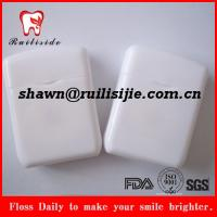 rectangle shape dental floss
