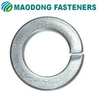 China Maodong Fasteners M6 DIN 127 Zinc Plated Steel Spring Washers on sale
