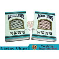 China Good Elasticity Casino Quality Playing Cards , Professional Playing Cards on sale