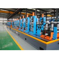 Quality HF ERW Stainless Steel Tube Mill , Electric Resistance Welded Pipe Forming Line for sale