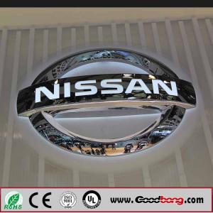 Buy cheap Customized Shape Acrylic car logo Vacuum Moulding Car Logo Signs product