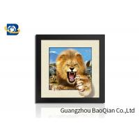 Buy cheap Animal 3D 5D Photography , Lenticular Image Printing Home / Bedroom Wall Art Decor product