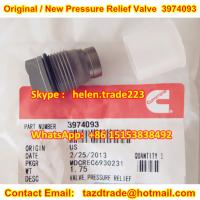 China BOSCH cummins Original and New Pressure Relief Valve 3974093 / 1110010028 Limited control wholesale
