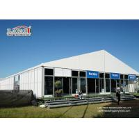Buy cheap White Outdoor Exhibition Tents Aluminum Frame 3000 sqm For Event Party product