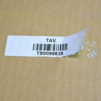 Buy cheap Unique Barcode VOID Security Labels Variable Serial Number Polyester Material product