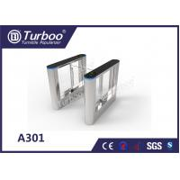 Buy cheap ISO 9001 RFID Security Gate Turnstile Card Reader / Glass Security Barriers product