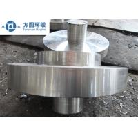 Buy cheap C45 Carbon Steel Hot Rolled  / Hot Forged Ring Normalizing for Gears product