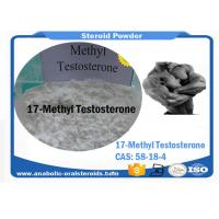 Buy cheap White Powder Testosterone Steroid Mesterone / 17-Methyltestosterone / Metandren CAS58-18-4 product