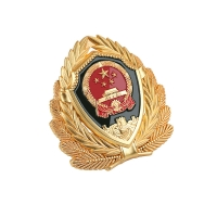Buy cheap Electroplate Military Cap Badges product
